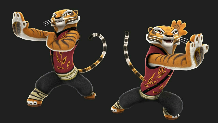 Мастер тигрица в картинках
