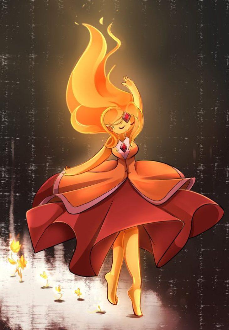 Картинки огненной принцессы