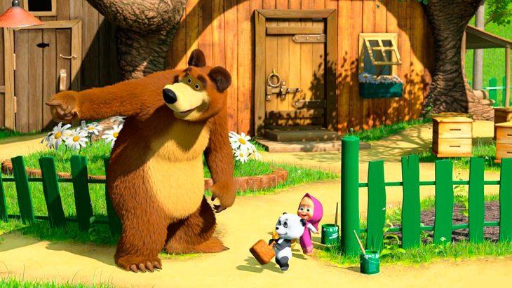 Маша и медведь серия картинки