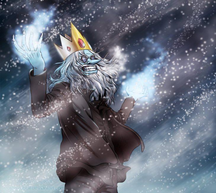 внешнее внутреннее картинка ледяного короля рейка