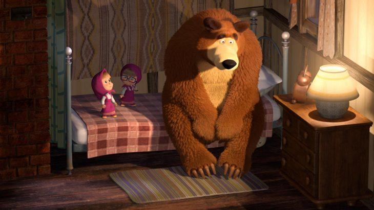 маша и медведь вечером картинки харькове