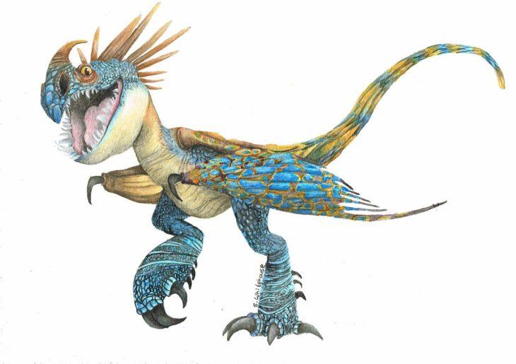 Рисунки для срисовки Как приручить дракона 3 (27 фото