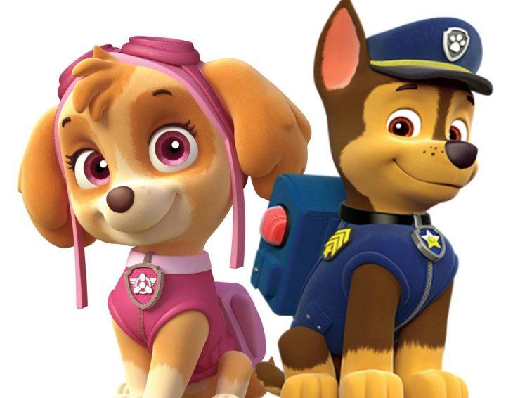 значит, щенячий патруль собака картинка тайских зубных