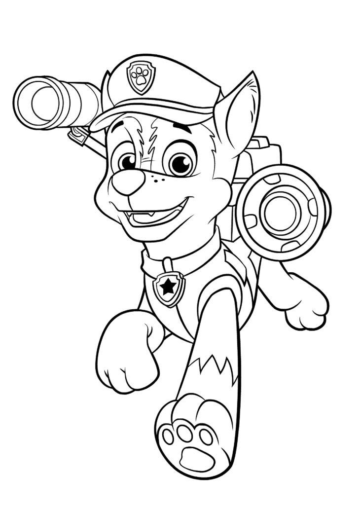 картинки собачий патруль распечатать получается сытным