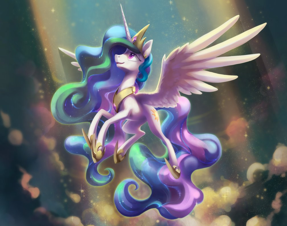 Принцесса Селестия из мультсериала «Мой маленький пони ...