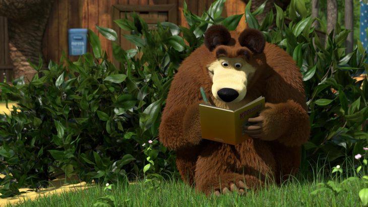 Фото и картинки из мультфильма маша и медведь