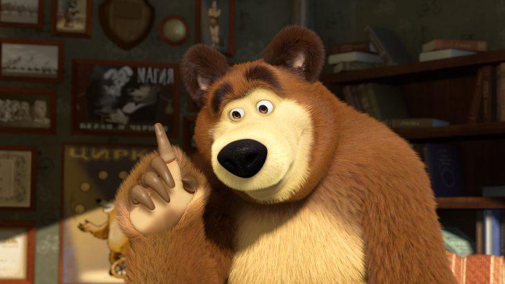 Картинка медведь мультик