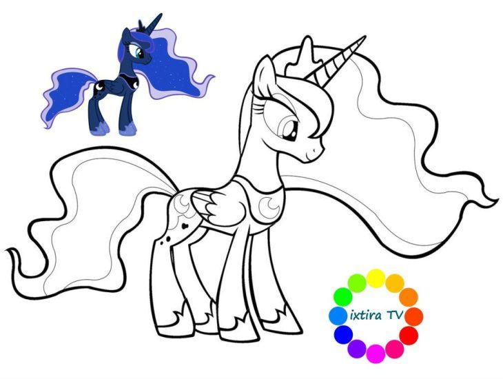 Принцесса Луна из мультсериала «Мой маленький пони: дружба ...