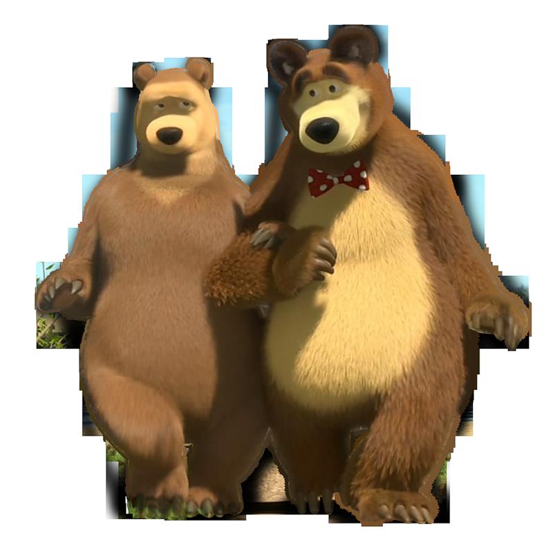 Картинка мишки из маши и медведь