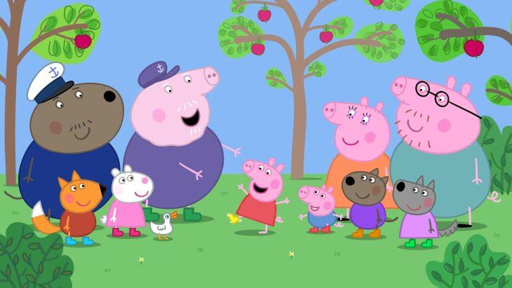 Картинки свинки пеппы и ее друзей