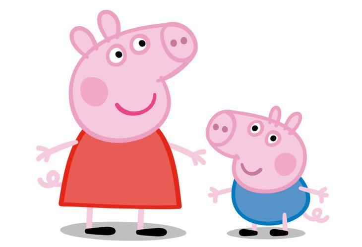 картинка свинка свинка пеппа случае автомобилями