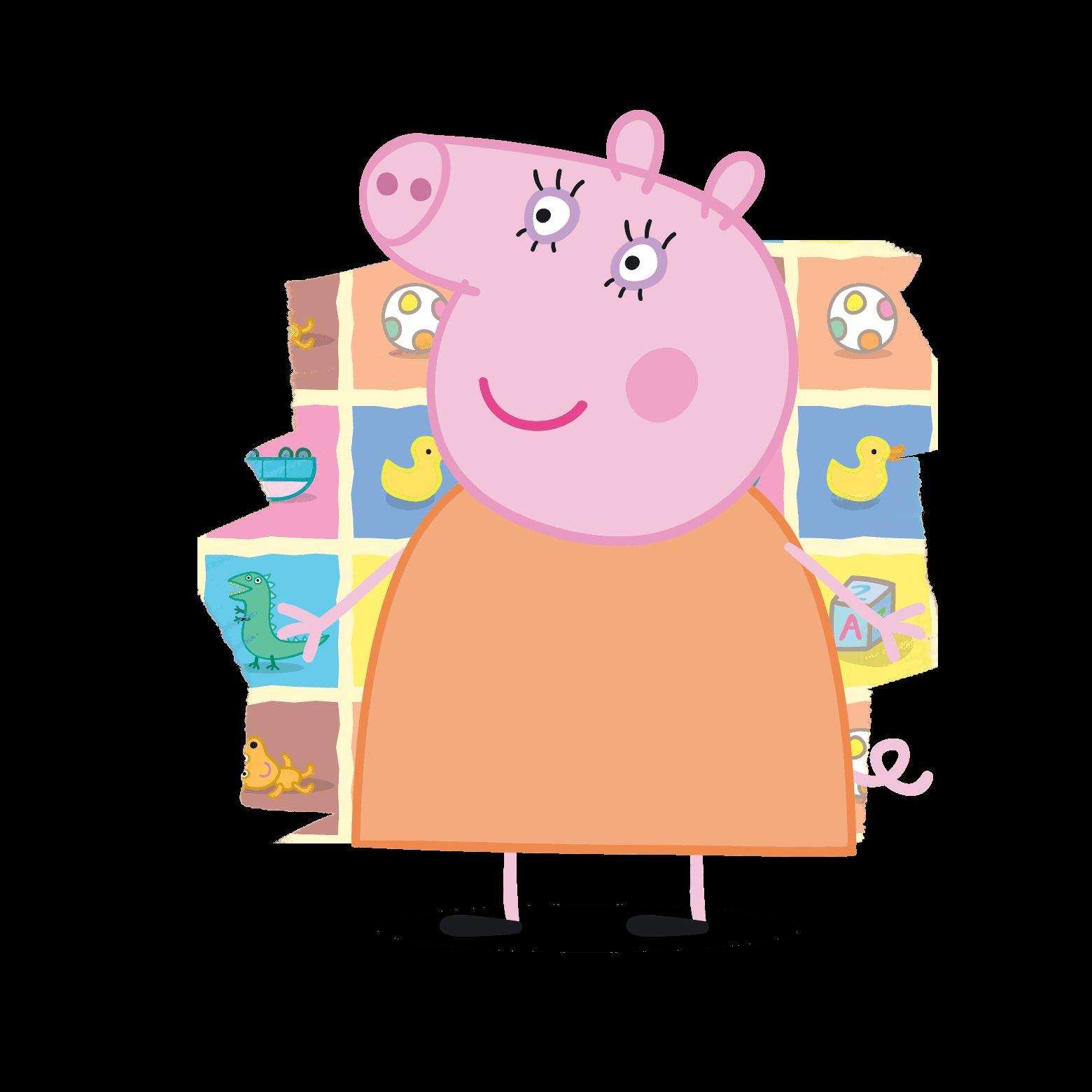 Картинка мамы свинки