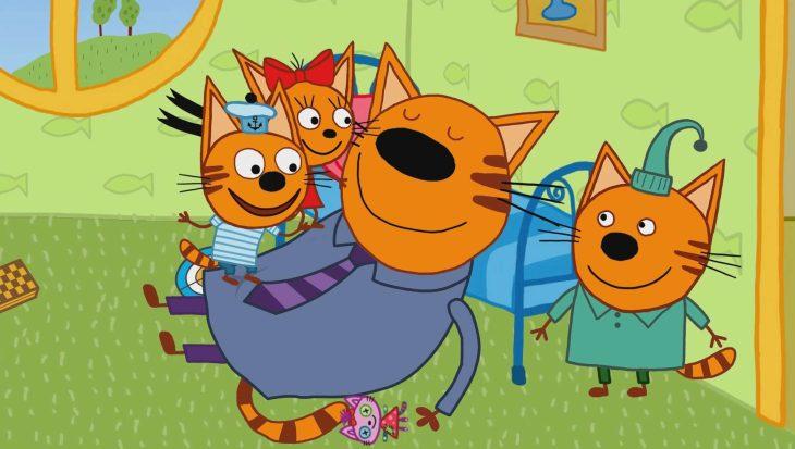 Три кота в картинках, виртуальные