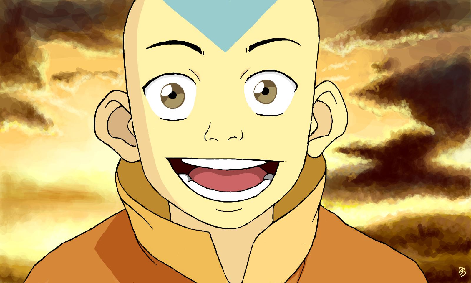 Картинки аанга из мультика аватар