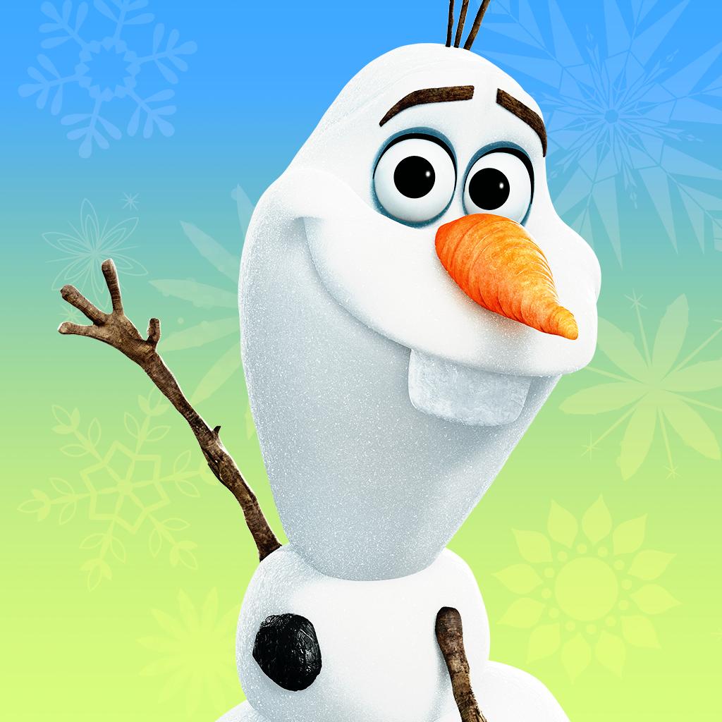 Картинка с снеговиком из холодного сердца