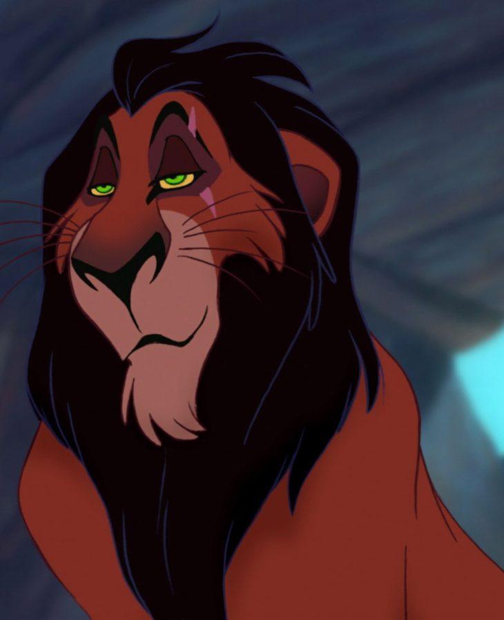 Картинки из король лев шрам