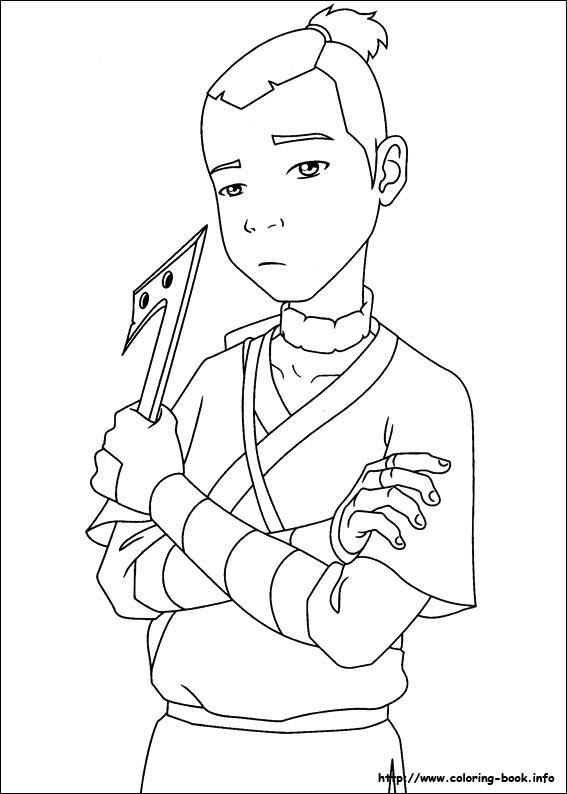 картинки аватара аанга карандашом настенная коллекции