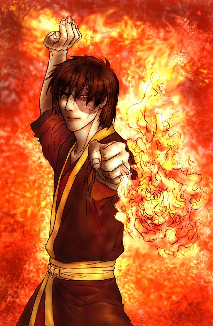 Картинки аниме аватар зуко