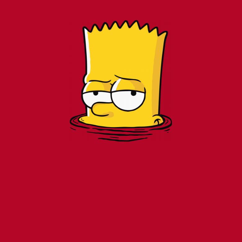 Барт симпсон картинки прикольные