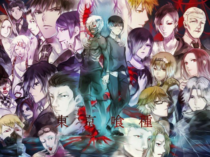 Картинки токийский гуль все герои
