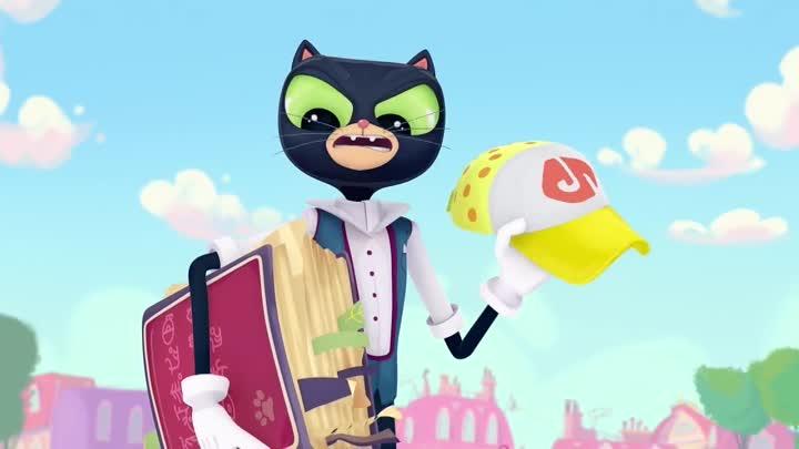 Картинка кота из мультика сказочный патруль