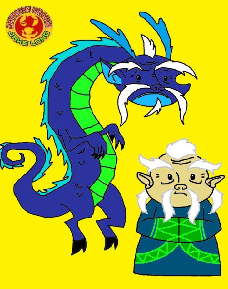 Лао Ши из мультсериала «Американский дракон Джейк Лонг ...