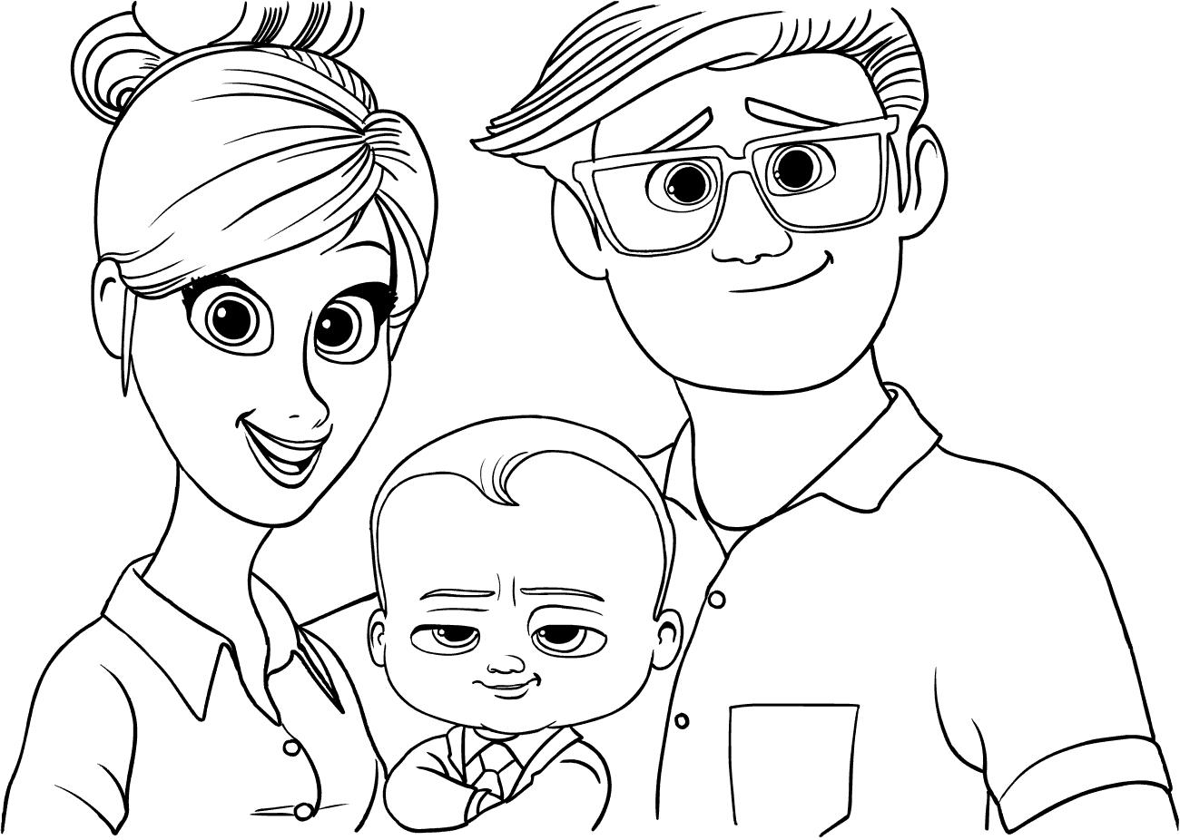Папа рисунок карандашом