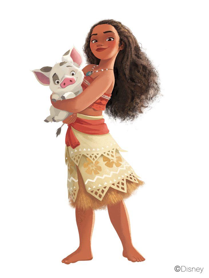 Картинки персонажей из моаны