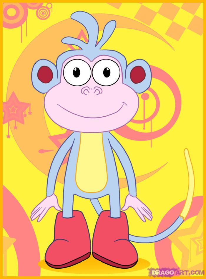 Картинки обезьянки башмачка