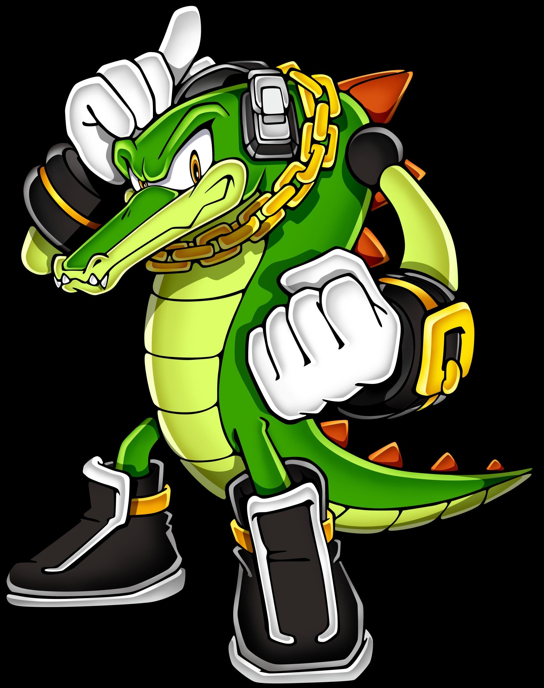 Крокодил Вектор из аниме «Соник Икс» (30 фото)