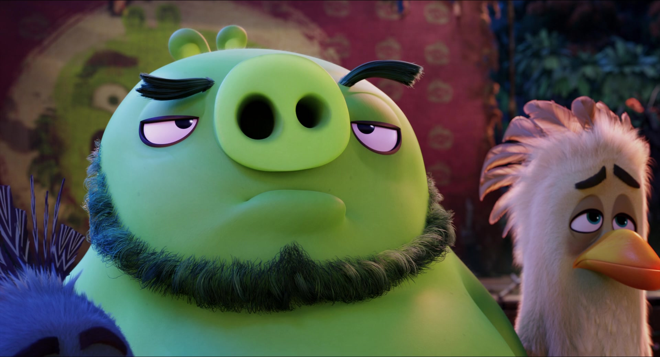 Картинки свиней из мультика энгри бердз
