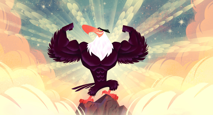 Картинки энгри бердз могучий орел
