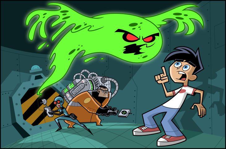 Дэнни-призрак - картинки из мультфильма, постеры